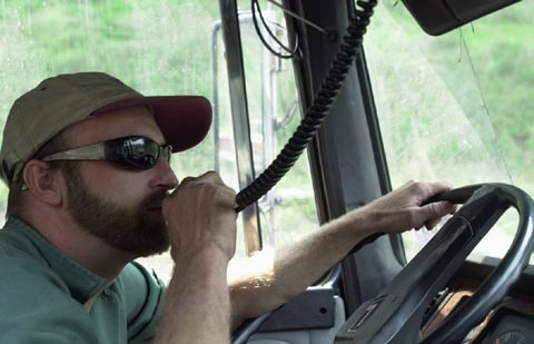 Bus and Truck Driver great communications